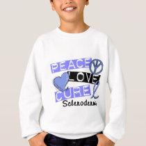 Peace Love Cure Scleroderma Sweatshirt