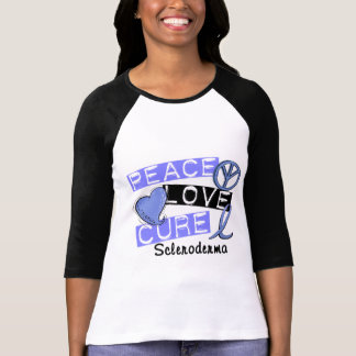 Peace Love Cure Scleroderma T Shirt
