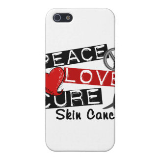 Peace Love Cure Skin Cancer iPhone 5 Cover