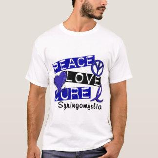 Peace Love Cure Syringomyelia T-Shirt