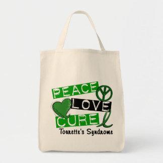 Peace Love Cure Tourette's Syndrome Bags
