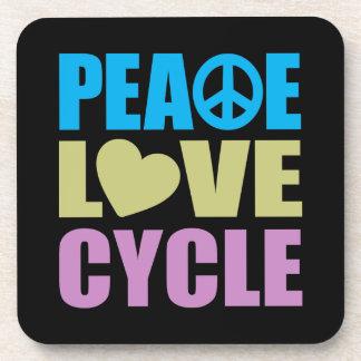 Peace Love Cycle Coaster