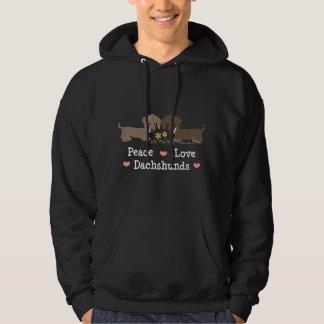 Peace Love Dachshunds Sweatshirt