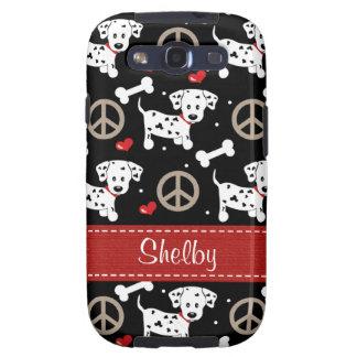Peace Love Dalmatians Galaxy S3 Cover