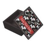 Peace Love Dalmatians Gift Box Premium Jewelry Box