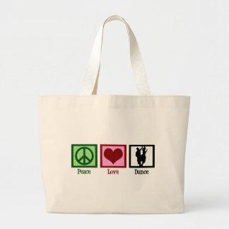 Peace Love Dance Bags