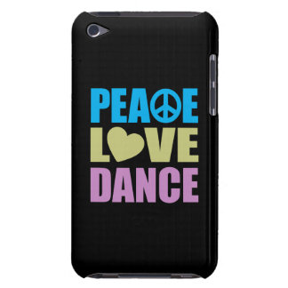 Peace Love Dance iPod Case-Mate Cases