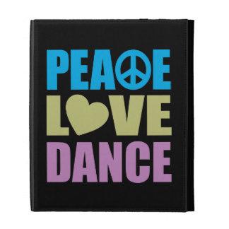 Peace Love Dance iPad Folio Case