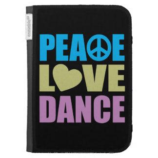 Peace Love Dance Kindle Case