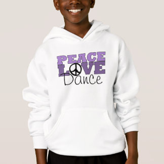 Peace, Love & Dance Hoodie