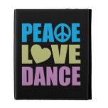 Peace Love Dance iPad Case