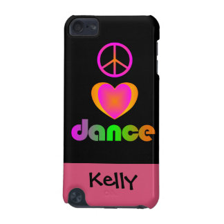 Peace Love Dance iPod Touch 5G Case