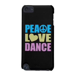 Peace Love Dance iPod Touch 5G Cover