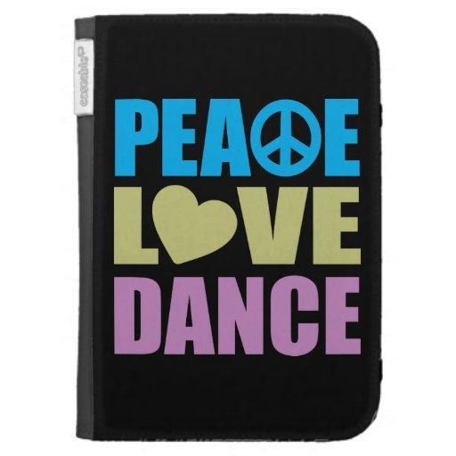 Peace Love Dance Kindle 3 Case