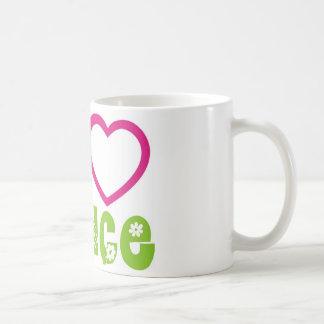 Peace Love Dance Classic White Coffee Mug