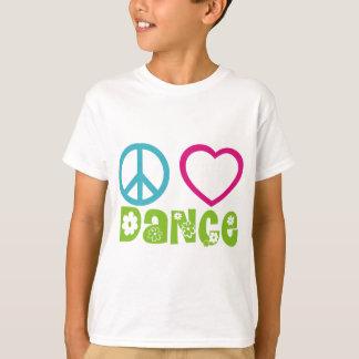 Peace Love Dance T-Shirt