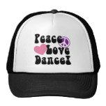 Peace, Love, Dance Trucker Hat