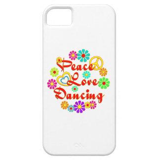 PEACE LOVE Dancing iPhone 5 Case