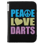 Peace Love Darts Kindle Keyboard Covers