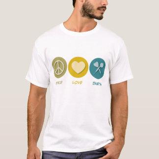 Peace Love Darts T-Shirt