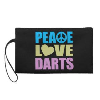 Peace Love Darts Wristlet