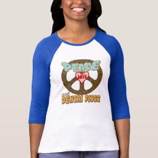 Peace Love Dental Floss Vintage T-Shirt