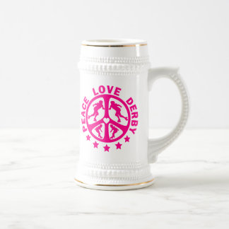 Peace Love Derby Mug