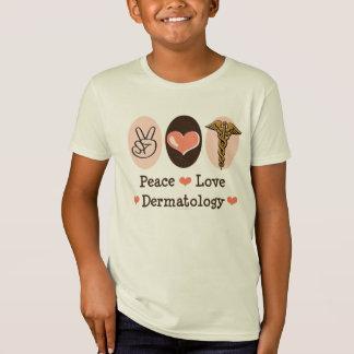 Peace Love Dermatology Kids Organic Tee
