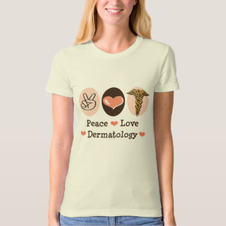 Peace Love Dermatology Organic Tee Shirt