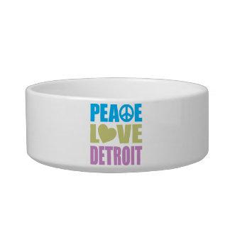 Peace Love Detroit Bowl