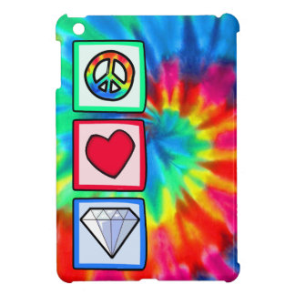 Peace, Love, Diamonds iPad Mini Covers