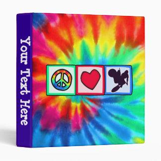 Peace, Love, Dirt Bike Binder