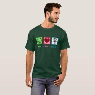Peace Love Disc Golf T-Shirt