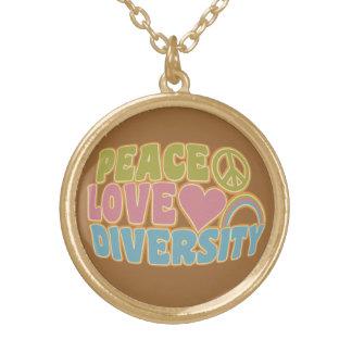 PEACE LOVE DIVERSITY necklace