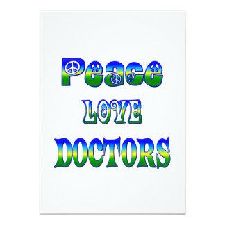 Peace Love Doctors Card