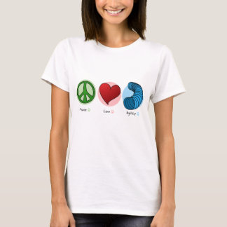 Peace Love & Dog Agility Women's T-Shirt
