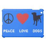 Peace Love Dogs Cover For The iPad Mini
