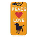 Peace Love Dogs iPhone SE/5/5s Cover