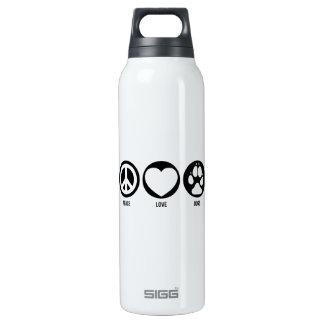 Peace Love Dogs Liberty Bottle SIGG Thermo 0.5L Insulated Bottle