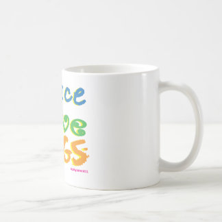 Peace Love Dogs Coffee Mugs
