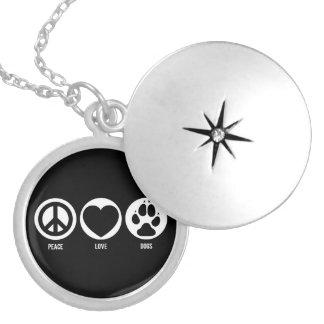 Peace Love Dogs Necklace