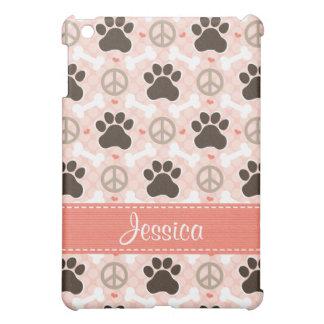 Peace Love Dogs Paw  iPad Mini Covers