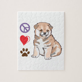 PEACE LOVE DOGS PUZZLES