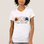 Peace, Love, Dogs Tshirts