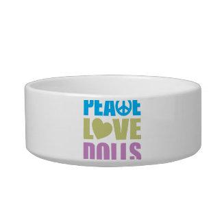 Peace Love Dolls Bowl