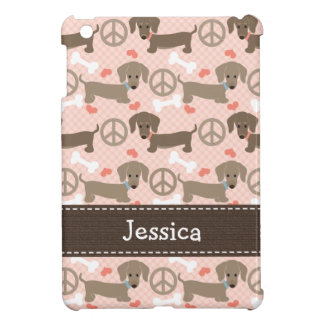 Peace Love Doxies iPad Mini Covers