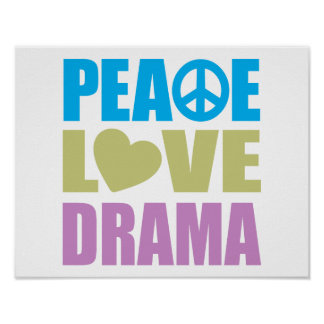 Peace Love Drama Poster