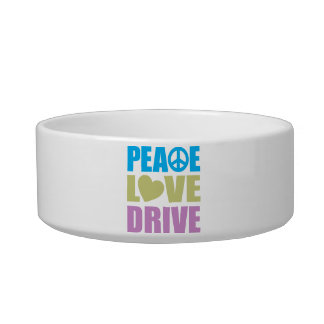 Peace Love Drive Bowl