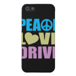 Peace Love Drive Cover For iPhone 5