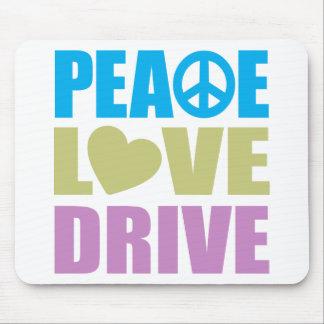 Peace Love Drive Mouse Pad